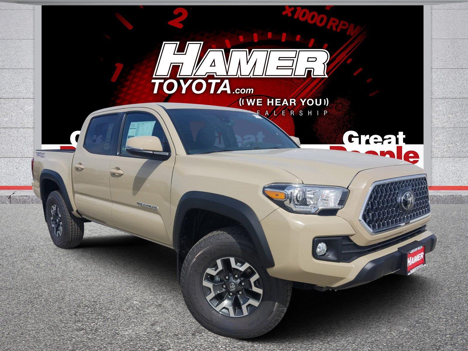 New Toyota Tacoma >> New 2019 Toyota Tacoma Trd Off Road Double Cab In Mission Hills