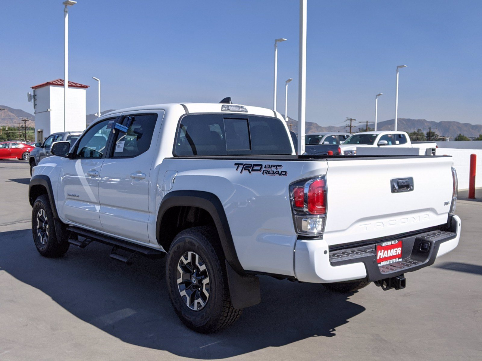 Toyota Mission Hills >> New 2021 Toyota Tacoma TRD Off Road Double Cab in Mission ...