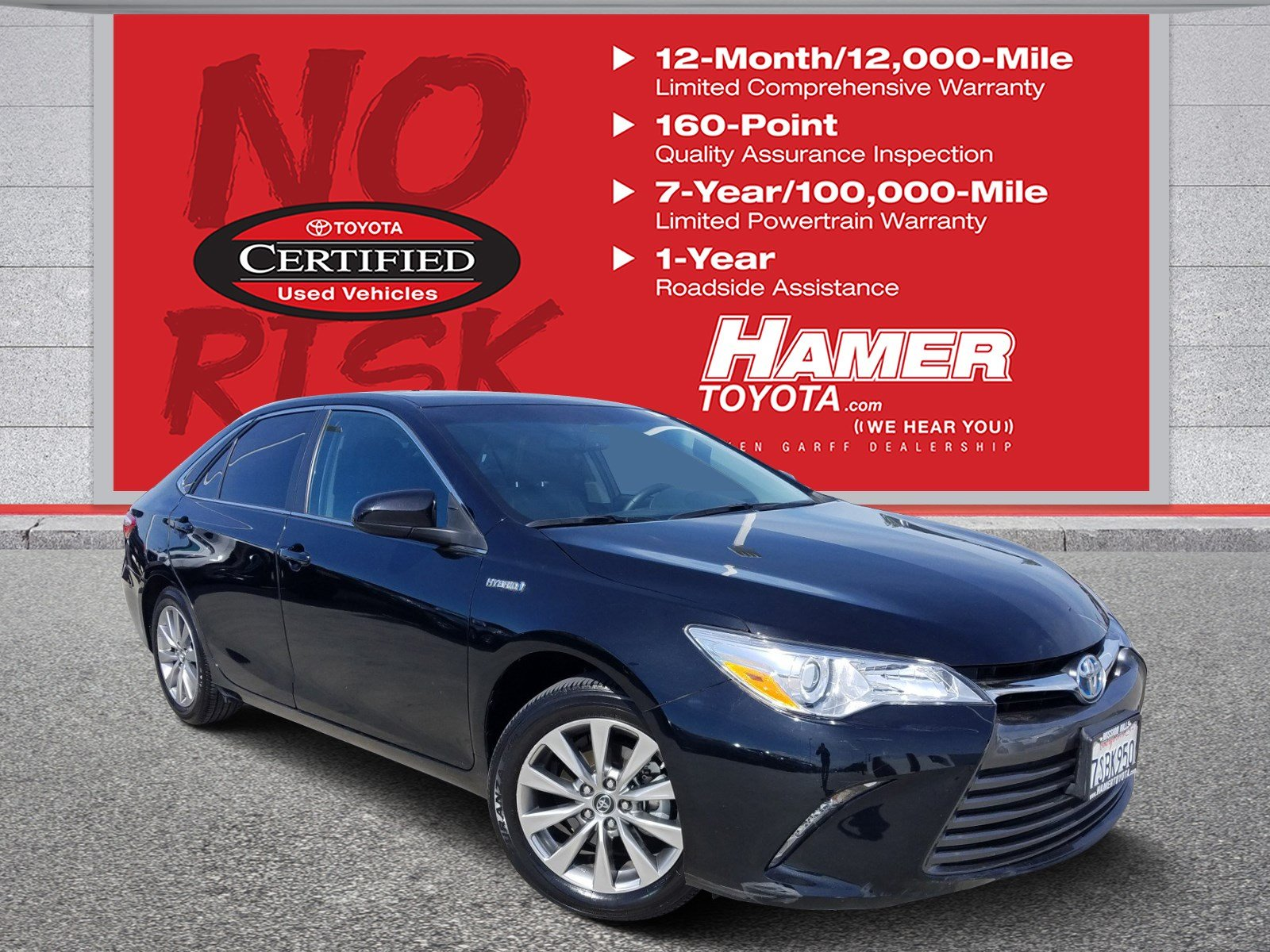 Certified Pre-Owned 2016 Toyota Camry Hybrid XLE