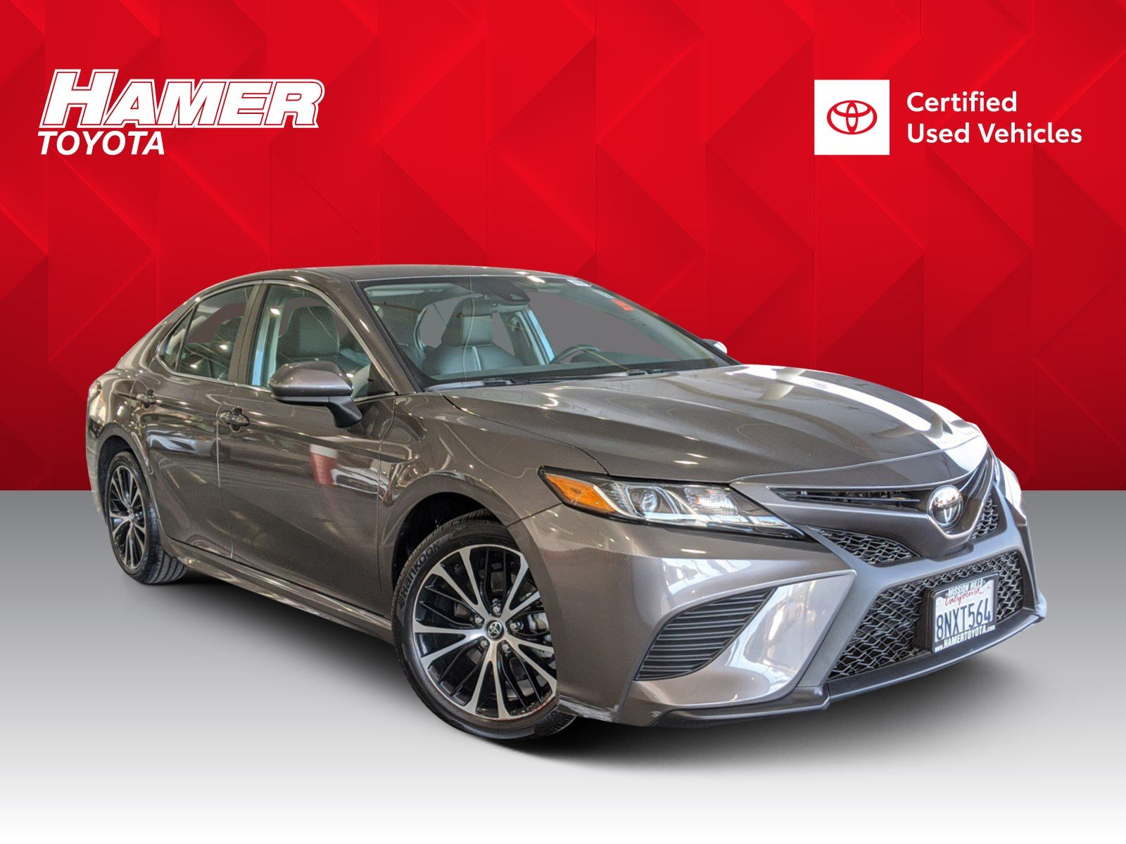 Certified Pre-Owned 2020 Toyota Camry SE