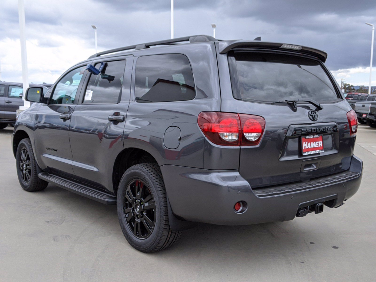New 2020 Toyota Sequoia TRD Sport Sport Utility in Mission ...