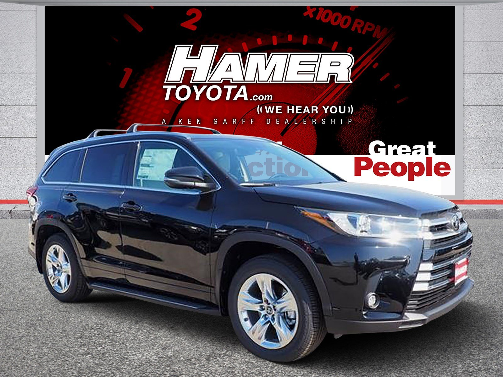 Toyota Highlander Limited >> New 2019 Toyota Highlander Limited Awd Sport Utility