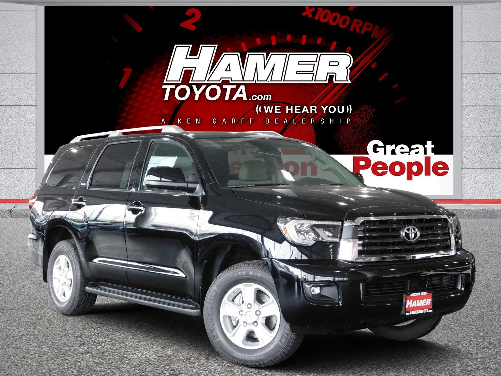 Toyota Mission Hills >> New 2019 Toyota Sequoia SR5 Sport Utility in Mission Hills ...