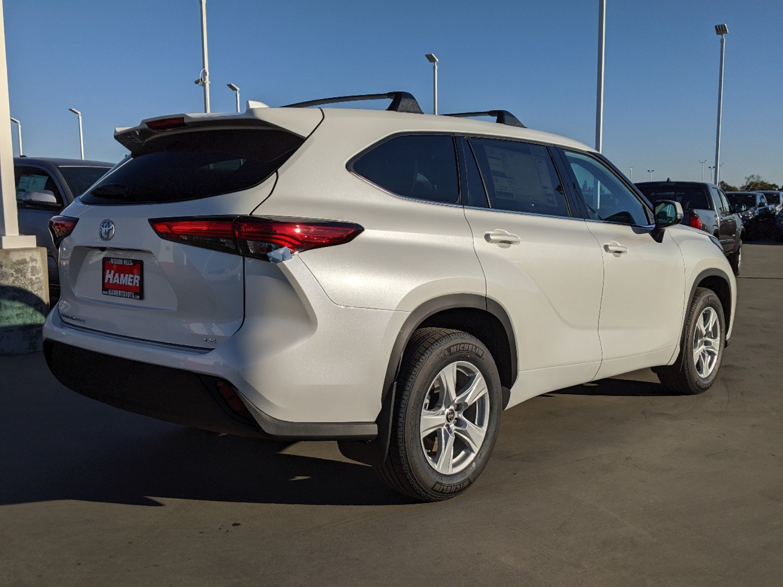 Toyota Mission Hills >> New 2020 Toyota Highlander LE Sport Utility in Mission ...