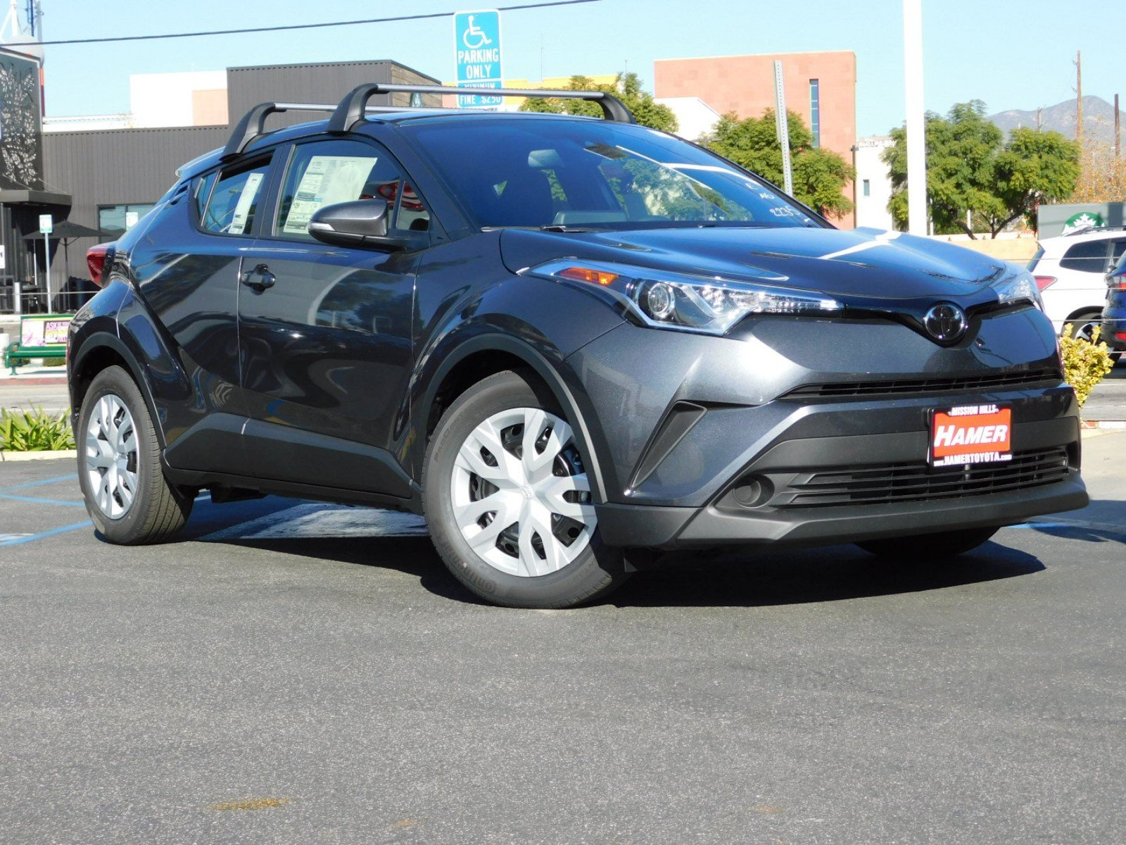 New 2019 Toyota C Hr Le Sport Utility In Mission Hills 47369
