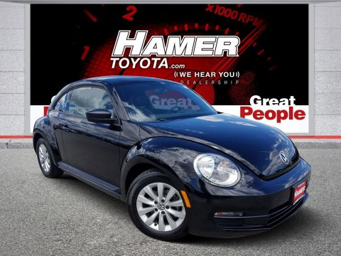 Pre-Owned 2015 Volkswagen Beetle Coupe 1.8T Classic