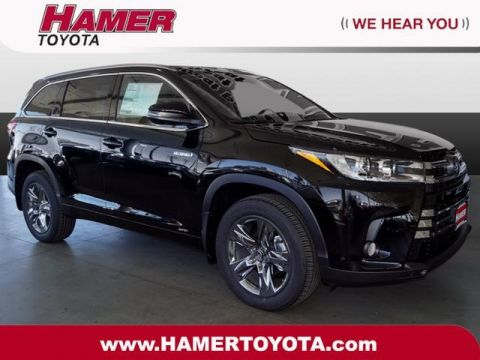 New 2018 Toyota Highlander Hybrid Limited Platinum AWD
