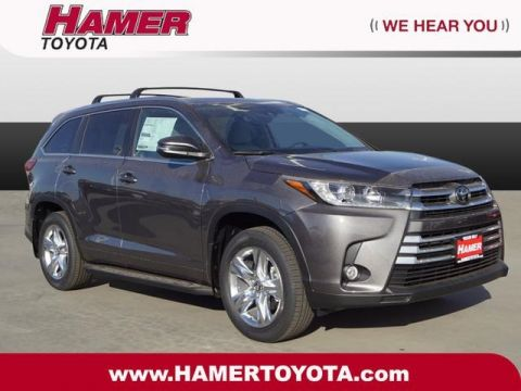 New 2018 Toyota Highlander Limited FWD 4D Sport Utility