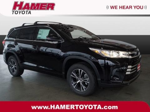New 2018 Toyota Highlander LE FWD 4D Sport Utility
