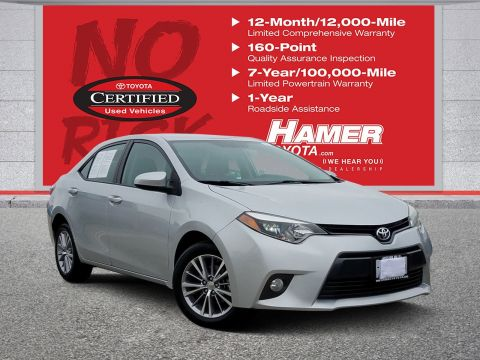 Certified Pre-Owned 2015 Toyota Corolla LE Plus