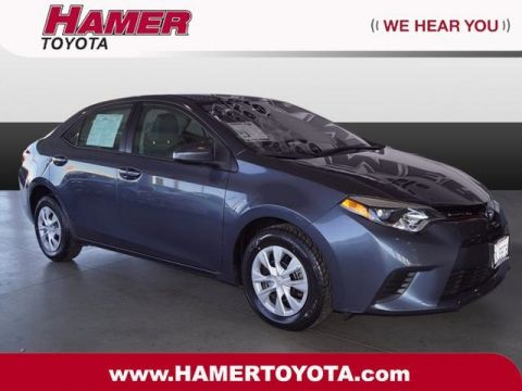 Certified Pre-Owned 2015 Toyota Corolla BSE FWD 4D Sedan