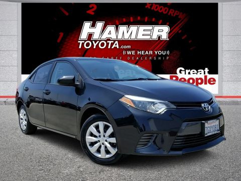 Certified Pre-Owned 2015 Toyota Corolla LE