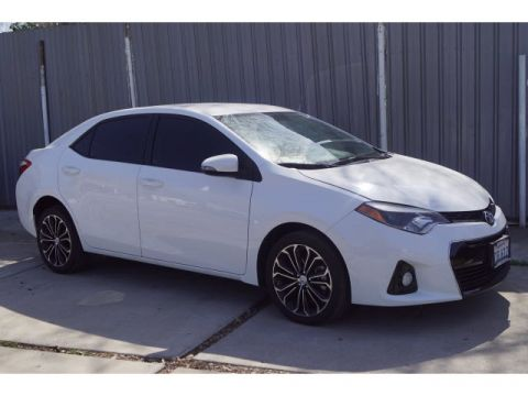 Pre-Owned 2016 Toyota Corolla S Plus FWD 4D Sedan