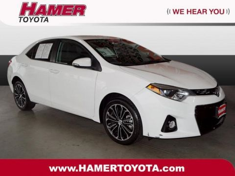 Certified Pre-Owned 2016 Toyota Corolla S FWD 4D Sedan