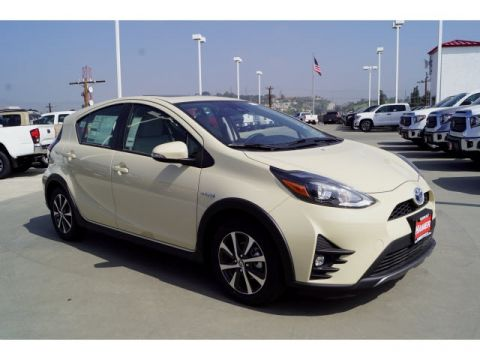 New 2018 Toyota Prius c Four With Navigation