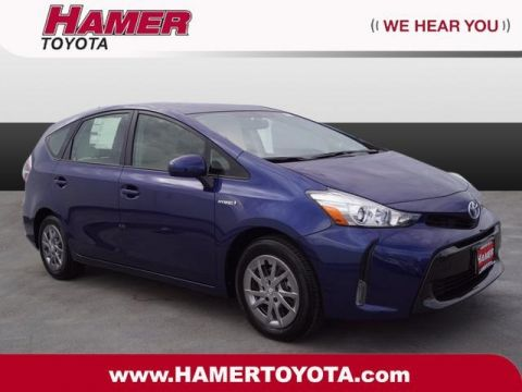 New 2017 Toyota Prius v Four With Navigation