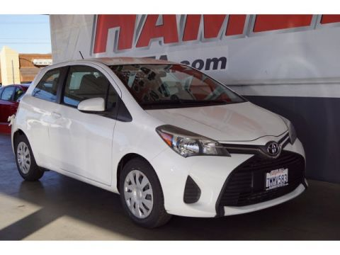 Certified Pre-Owned 2015 Toyota Yaris L FWD 3D Hatchback